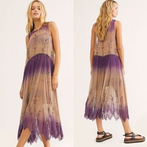 NWT Free People Twilight Midi Dress